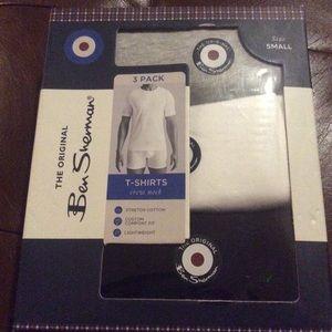 Men's Ben Sherman 3 Pack T-Shirts